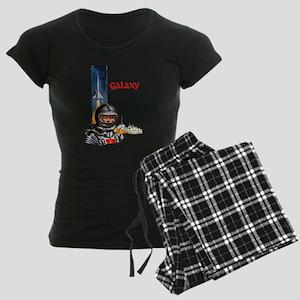 Galaxy scifi vintage mug Women's Dark Pajamas