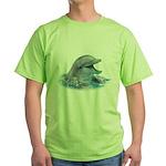 Happy Dolphin Green T-Shirt