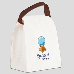 SPIRITUAL ADVISOR Canvas Lunch Bag