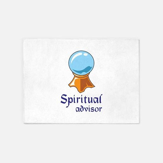 SPIRITUAL ADVISOR 5'x7'Area Rug