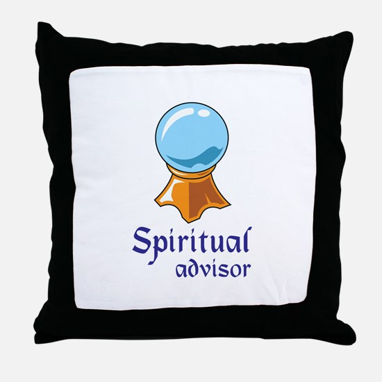 SPIRITUAL ADVISOR Throw Pillow