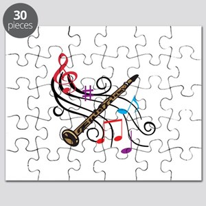 CLARINET WITH MUSIC Puzzle