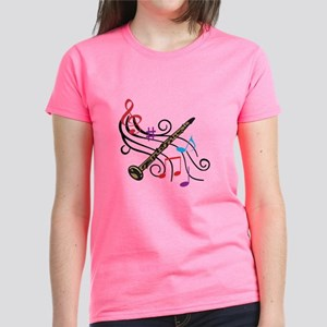 CLARINET WITH MUSIC T-Shirt
