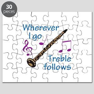 TREBLE FOLLOWS Puzzle
