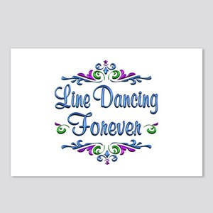 Line Dancing Forever Postcards (Package of 8)