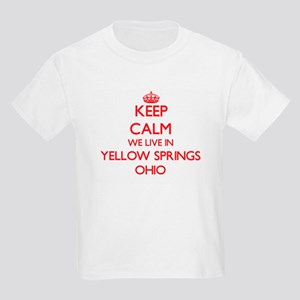 Keep calm we live in Yellow Springs Ohio T-Shirt