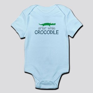 After While Crocodile Body Suit