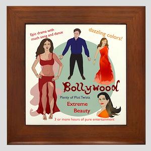 Bollywood Parody Framed Tile
