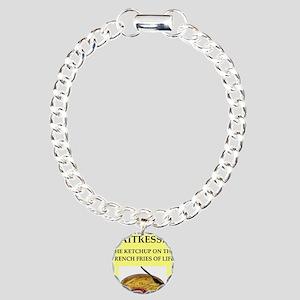 waitress, Charm Bracelet, One Charm
