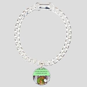 therapist Charm Bracelet, One Charm
