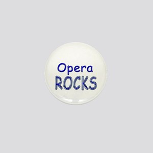 Opera Rocks Mini Button