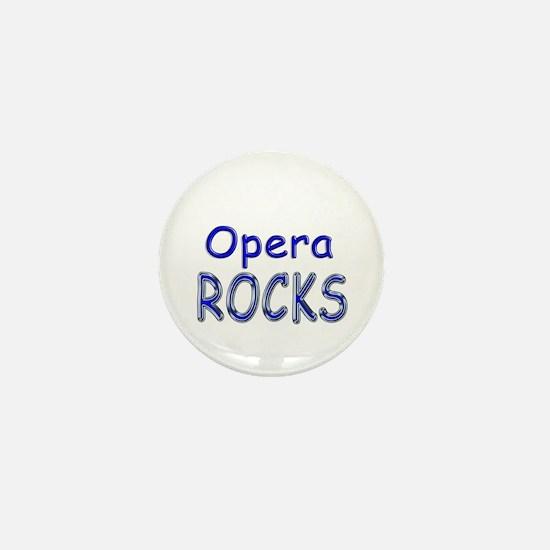 Opera Rocks Mini Button