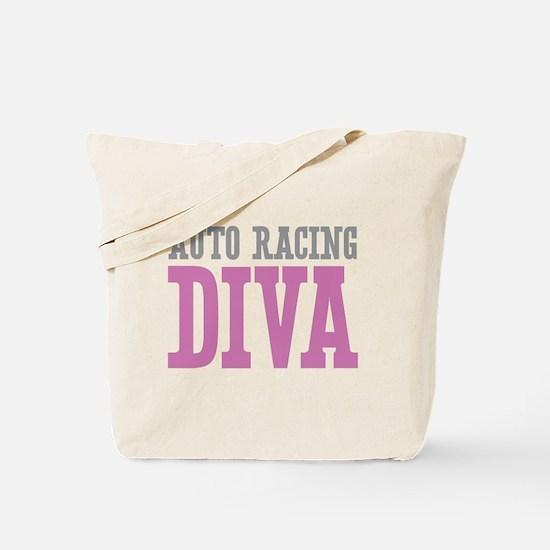 Auto Racing DIVA Tote Bag
