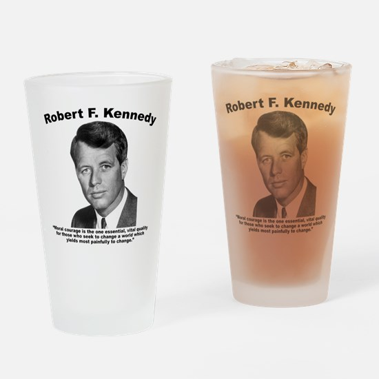 RFK: Courage Drinking Glass