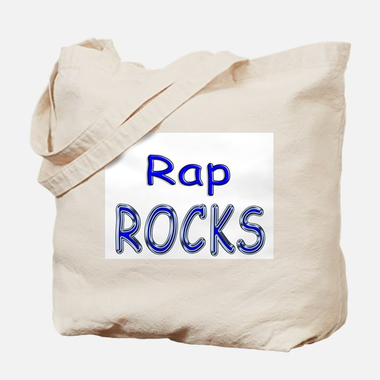Rap Rocks Tote Bag