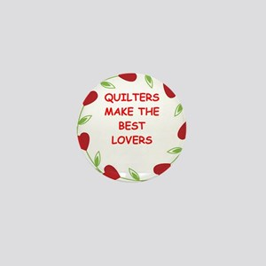 QUILTERS Mini Button