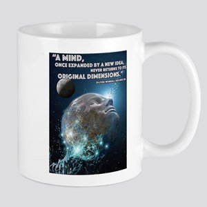 A mind once expanded Mugs