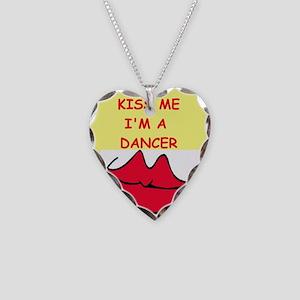 DANCER Necklace Heart Charm