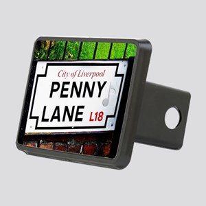 Penny Lane liverpool Engla Rectangular Hitch Cover