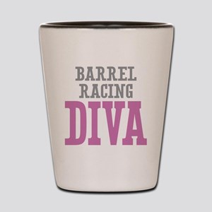 Barrel Racing DIVA Shot Glass