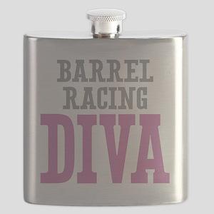 Barrel Racing DIVA Flask