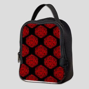 Geeky Dice Neoprene Lunch Bag