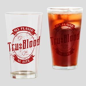 Vintage True Blood Bev Drinking Glass