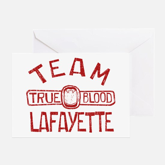 Team Lafayette True Blood Greeting Cards