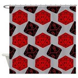 Dungeons dragons Shower Curtains