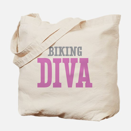 Biking DIVA Tote Bag