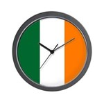 Irish Stripes Wall Clock