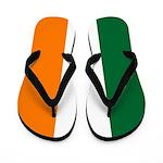 Irish Stripes Flip Flops