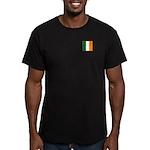 Irish Stripes Men's Fitted T-Shirt (dark)