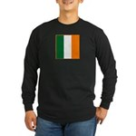 Irish Stripes Long Sleeve Dark T-Shirt