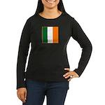 Irish Stripes Women's Long Sleeve Dark T-Shirt