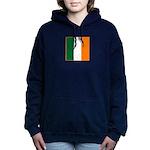 Irish Stripes Women's Hooded Sweatshirt
