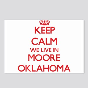 Keep calm we live in Moor Postcards (Package of 8)