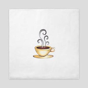 HOT COFFEE Queen Duvet