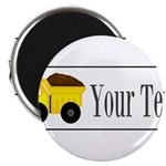 Personalizable Dump Truck Magnets