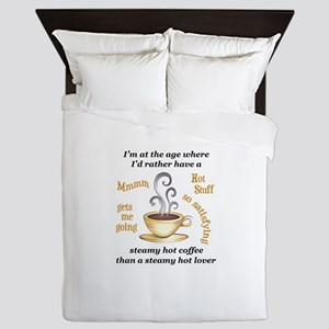 AT MY AGE Queen Duvet