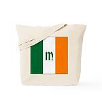 Irish Stripes Monogram Tote Bag