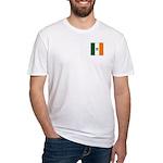 Irish Stripes Monogram Fitted T-Shirt