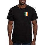 Irish Stripes Monogram Men's Fitted T-Shirt (dark)
