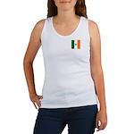 Irish Stripes Monogram Women's Tank Top