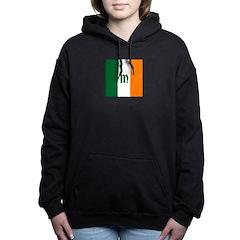 Irish Stripes Monogram Women's Hooded Sweatshirt