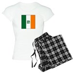 Irish Stripes Monogram Women's Light Pajamas
