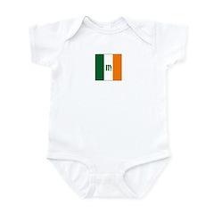 Irish Stripes Monogram Infant Bodysuit