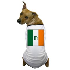 Irish Stripes Monogram Dog T-Shirt