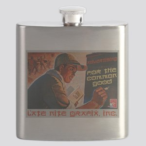 Advertising For The Common Good Flask
