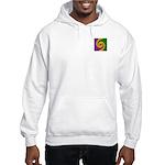Mardi Gras Swirls Monogram Hooded Sweatshirt